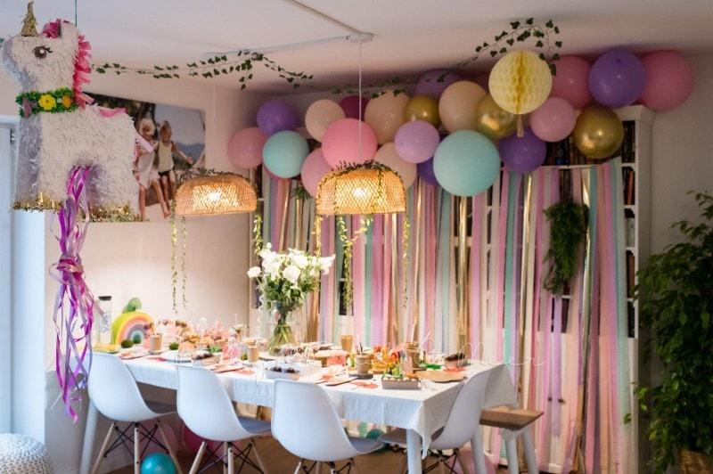 Lottes 8 Geburtstag Zauberwald Party babykindundmeer 39