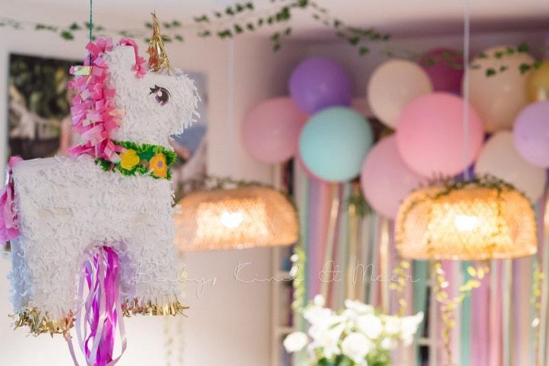 Lottes 8 Geburtstag Zauberwald Party babykindundmeer 41