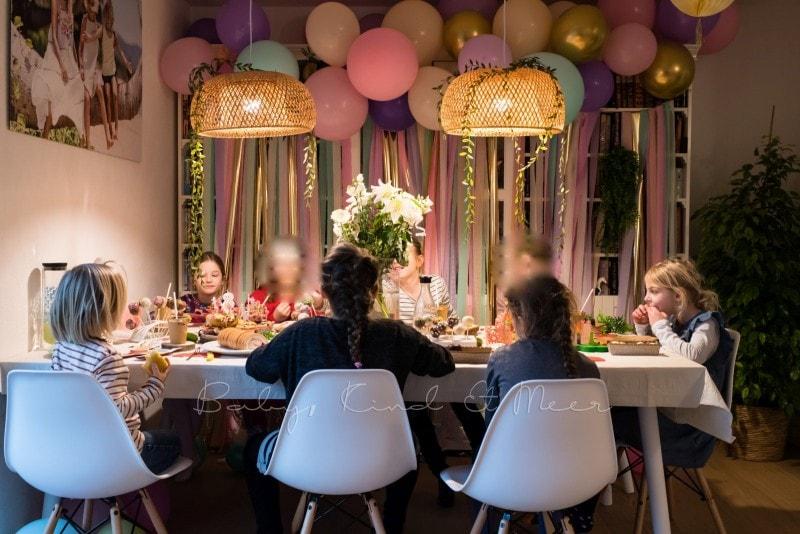 Lottes 8 Geburtstag Zauberwald Party babykindundmeer 45