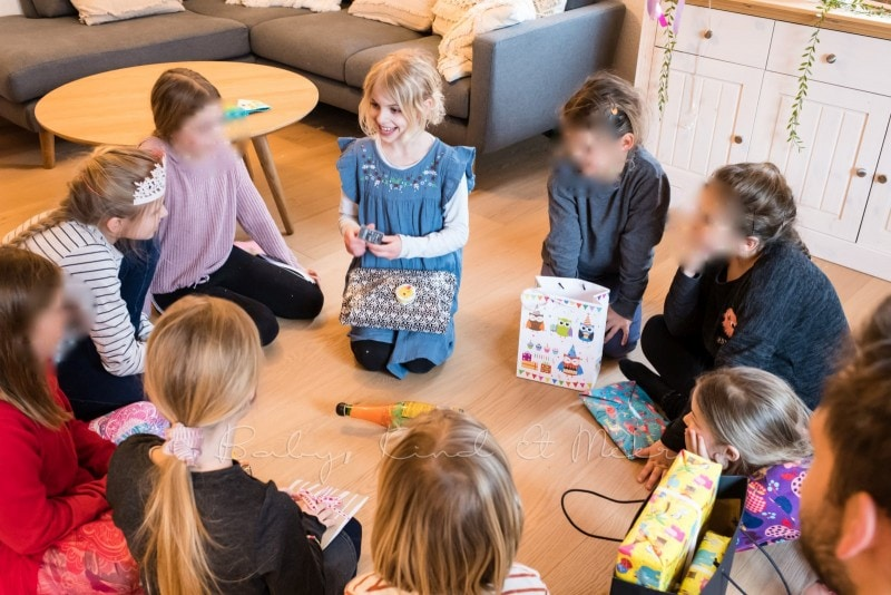 Lottes 8 Geburtstag Zauberwald Party babykindundmeer 46