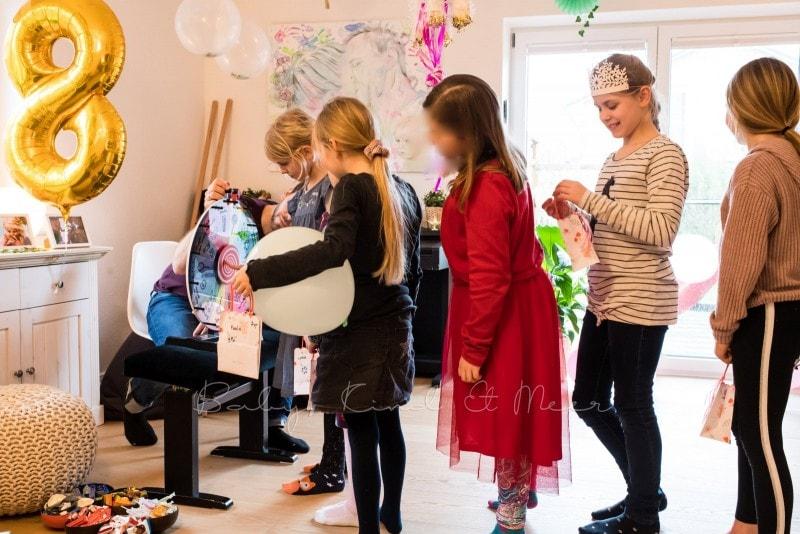 Lottes 8 Geburtstag Zauberwald Party babykindundmeer 47