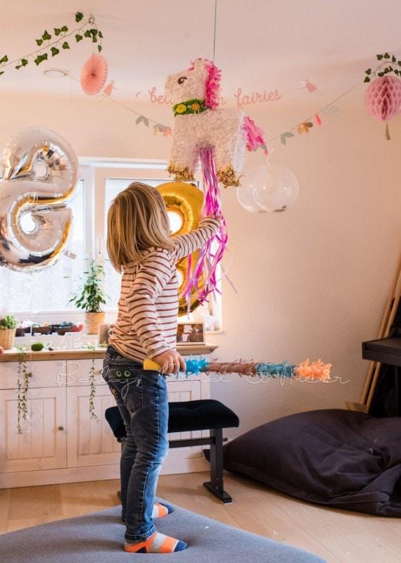 Lottes 8 Geburtstag Zauberwald Party babykindundmeer 54