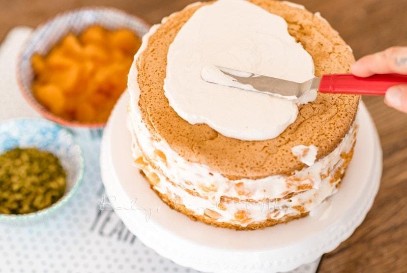 Mandarinen Mascarpone Tiramisu Torte babykindundmeer 14