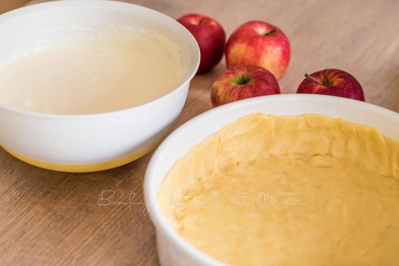 Apfelkuchen Kaesekuchen Apfelrosen 3