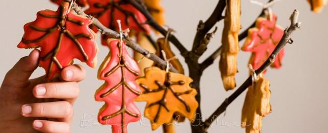 Herbstlicher Keks Baum