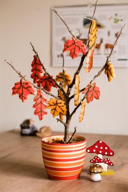 Rezept Herbst Keks Baum babykindundmeer 10
