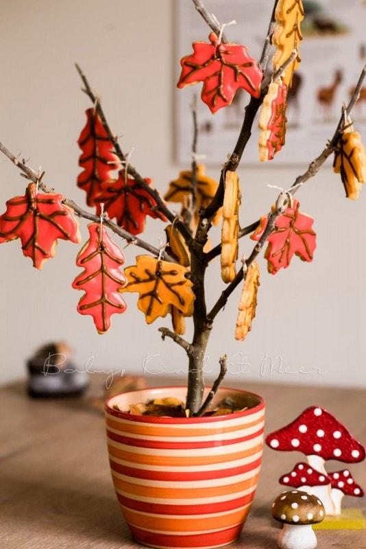 Rezept Herbst Keks Baum babykindundmeer 11