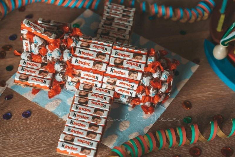 Flugzeug aus Kinderschokolade 15