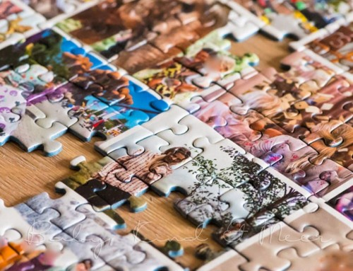 DIY: FOTOCOLLAGE-PUZZLE