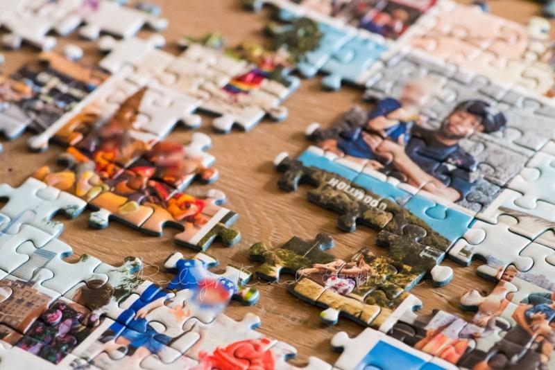 Fotocollage Puzzle selber machen fotopuzzle 12