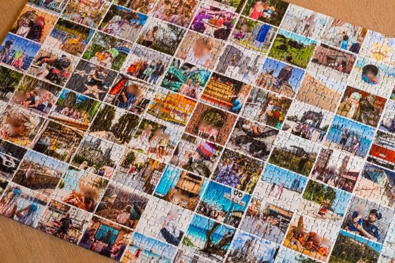 Fotocollage Puzzle selber machen fotopuzzle 13