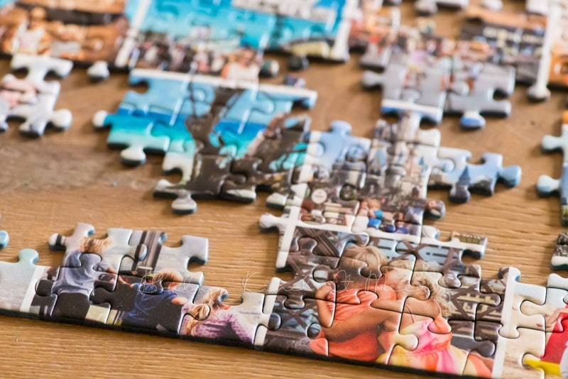 Fotocollage Puzzle selber machen fotopuzzle 8