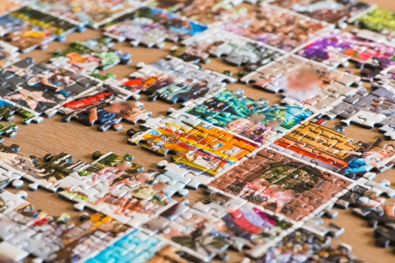 Fotocollage Puzzle selber machen fotopuzzle 9